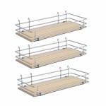 """DSA basket Set3 W 3-3/8"""" Scalea Maple silver"""