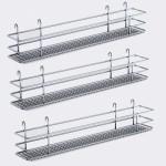 """DSA basket Set3 W 3-3/8"""" Saphir chrome"""