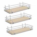 """DSA basket Set3 W 9"""" Scalea Maple silver"""