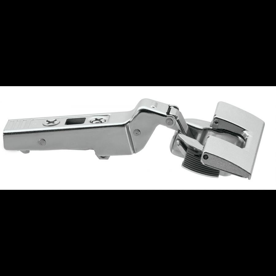 CLIP top BLUMOTION angled hinge 20° II, overlay, hinge cup: INSERTA 79B9595