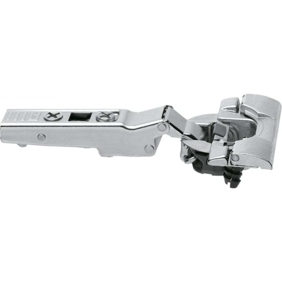 CLIP top BLUMOTION angled hinge -15° III, max. overlay, hinge cup: INSERTA 79B3493