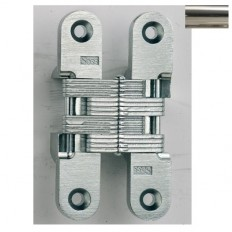 MODEL 212SS STAINLESS STEEL INVISIBLE HINGE Finish Bright Stainless Steel
