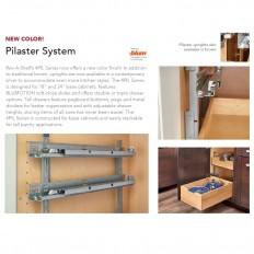 Silver Pilaster Upright Kit