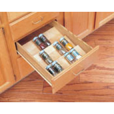 Spice Drawer InsertNaturalWood - Maple