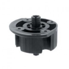 841 Dowel ABS Plastic Socket 10mm Black
