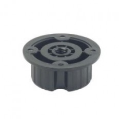 841 Standard ABS Plastic Hollow bolt, included Black