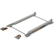 TANDEM plus BLUMOTION full ext., 50 kg, NL=533 mm, left/right, Bottom mounting 569R5337Bf