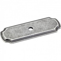 Backplates, Distressed Antique Silver, B812-ASM
