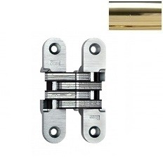 MODEL 212 INVISIBLE HINGE Bright Brass