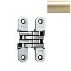 MODEL 208 INVISIBLE HINGE Satin Brass