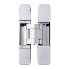 3-WAY ADJUSTABLE CONCEALED HINGE, Dull Chrome, HES3D-E190DC