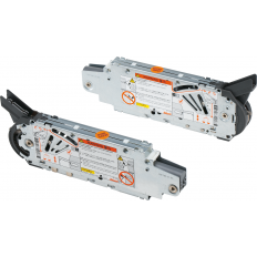 AVENTOS HF bi-fold lift system, lift mechanism (set), PF=9000-17250 (with 2 pieces), suitable for SERVO-DRIVE, 20F2800.N5.780 – 1440
