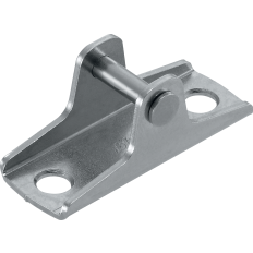 AVENTOS HK-XS small stay lift, front fixing bracket for wood fronts, screw-on, 20K4101
