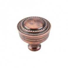 "Contessa Knob 1 1/4"" - Old English Copper"