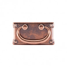 "Mission Plate Pull 3"" (c-c) - Old English Copper"