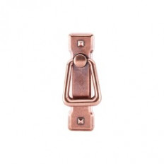 "Mission Ring Pull w/Backplate 2 1/4"" (c-c) - Old English Copper"