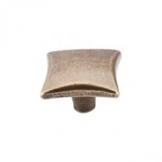 "Square Knob 1 1/4"" - German Bronze"