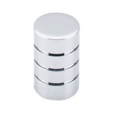 "Stacked Knob 5/8"" - Polished Chrome"
