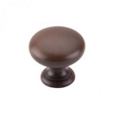 """Mushroom Knob 1 1/4"""" - Patina Rouge"""