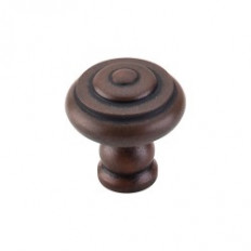 "Step Knob 1 1/8"" - Patina Rouge"