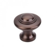 "Ascot Knob 1 1/4"" - Oil Rubbed Bronze"