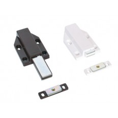 ML-120/WHT, LONG STROKE TOUCH LATCH -WHITE