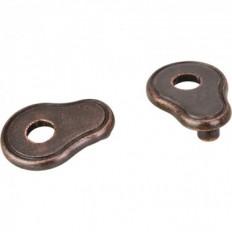 Escutcheons, Distressed Oil Rubbed Bronze, PE02-DMAC