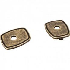 Escutcheons, Distressed Antique Brass, PE07-ABM-D