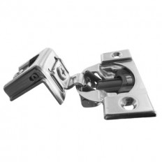 """COMPACT BLUMOTION hinge, 1-1/4"""", 107°, with spring, hinge cup: screw-on 38C355B.20"""
