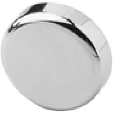 Glass door hinge, hinge cup cover cap, round 84.4140