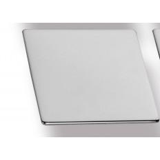 "ZP0074-2, Plana Knob Centers 5/8""Brushed Chrome"