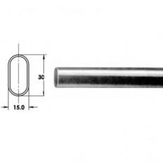 Rod, 1.0mmChrome Plated