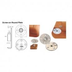 KEA Screw-on Round Plate,