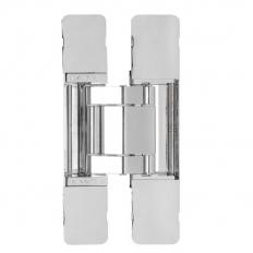 3-WAY ADJUSTABLE CONCEALED HINGE, Polished Nickel, HES3D-E190PN