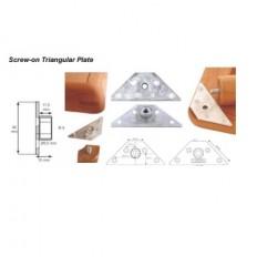 KEA Screw-on Triangular Plate,