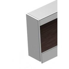 ZP0826-8, Zetta End Cap Set Stainless steel