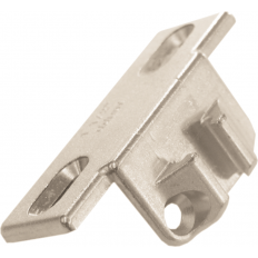 "Mounting plate, 1-1/2"", screw + narrow T-nut (130. and 133.), screw-on 130.1150.02"