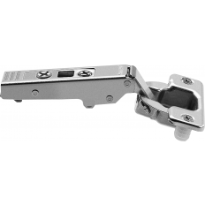 CLIP top standard hinge 107°, corner merge application, hinge cup: press-in 75T1580